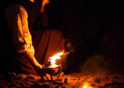 Darkök Intro der Feuershow beim Haaner Sommer 2015