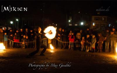 Mittelalterlicher Weihnachtsmarkt in Durlach – Die Feuershows