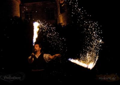 Mikien Hochzeit Feuershow