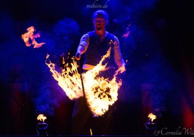 Mikien Feuershow - DAS FEST 2016