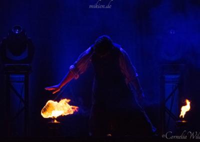 Mikien Feuershow - DAS FEST 2016 - Rope Dart