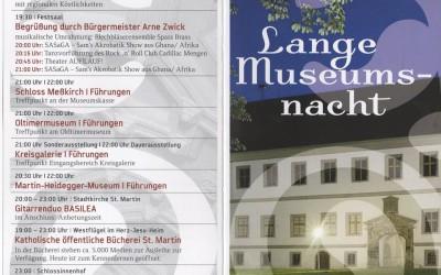 Lange Museumsnacht Schloss Meßkirch