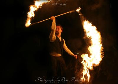 Feel the fire - Mittelalterlicher Weihnachtsmarkt Durlach 2015